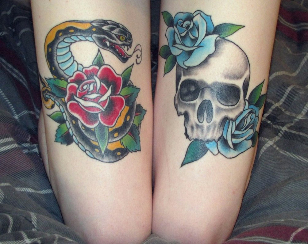 100's of Thigh Tattoo Design Ideas Picture Gallery