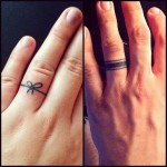 ring tattoos 13 150x150 - 100's of Ring Tattoo Design Ideas Picture Gallery