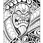 samoan tiki b w by mr tasi 613174422 150x150 - 100's of Tikki Tattoo Design Ideas Picture Gallery