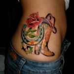 shoes tattoos 10 150x150 - 100's of Shoes Tattoo Design Ideas Picture Gallery