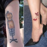 shoes tattoos 4 150x150 - 100's of Shoes Tattoo Design Ideas Picture Gallery