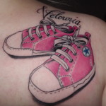shoes tattoos 8 150x150 - 100's of Shoes Tattoo Design Ideas Picture Gallery