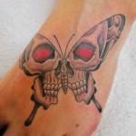skull-ankle-tattoos-
