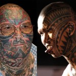 tribal face tattoos 150x150 - 100's of Mike Tyson Tattoo Design Ideas Picture Gallery