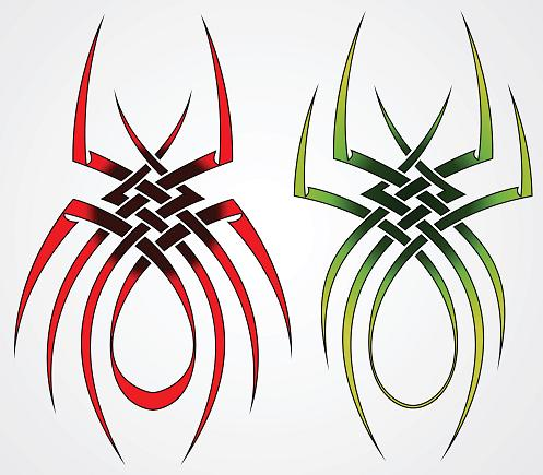100's of Spider Tattoo Design Ideas Picture Gallery