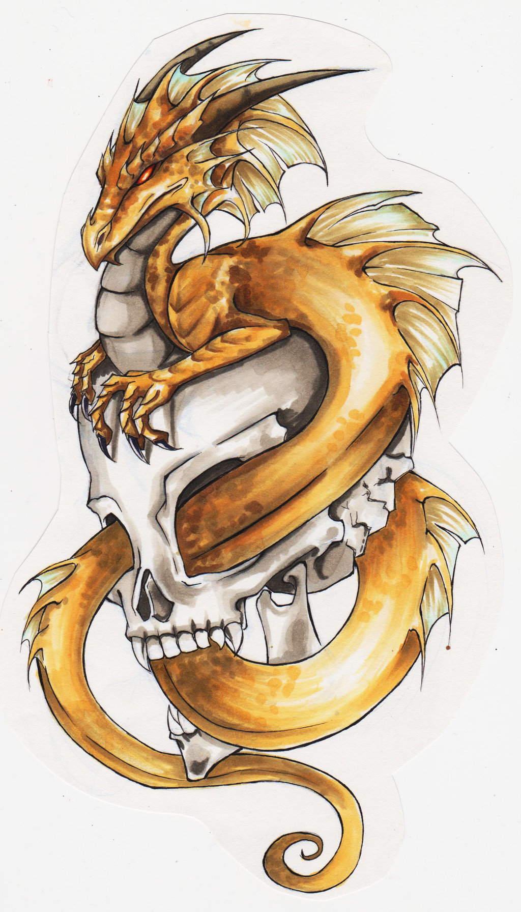 100's of Dragon Tattoo Design Ideas Picture Gallery