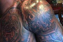 Adrian Peterson's Tattoo