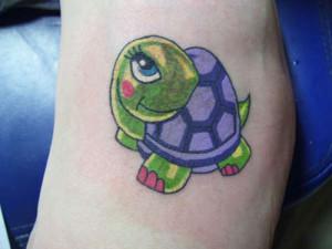 mertle turtle animated tattoo 300x225 - mertle-turtle-animated-tattoo