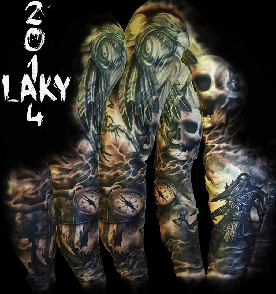 Black Friday featured INK Artists: Laky Maksims Zotovs – Awesome artist!